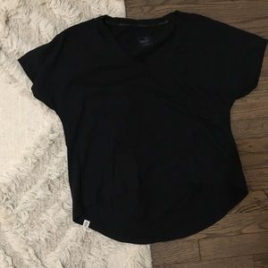Puma Short Sleeve High Low Work Out Tee